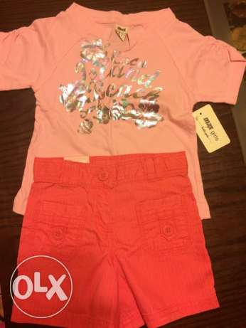 new max 2-3 years girls tshirt and short