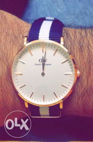 Daniel wellington golden watch