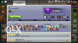Clash of clans town 10