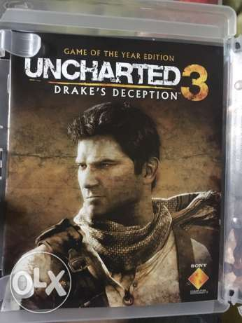 uncharted for PS3 used الوراق -  2