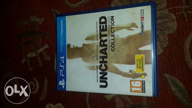 Uncharted (the nathan drake) collection ps4 game