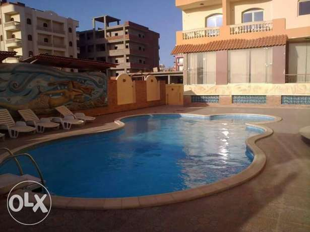 Flat in Kawther, near Airport road, sw. pool, 65 sqm, 1 bedroom الغردقة -  7