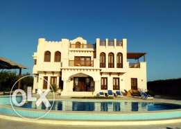 Luxury 4 bedroom villa with private swimming pool in El Gouna