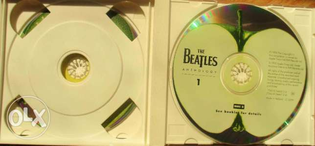 The Beatles (Anthology) part (1) 2CDS مصر الجديدة -  5