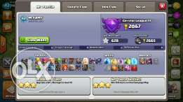Coc, th9 max clash of clans