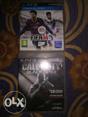 Fifa 14 and Call of duty black ops II