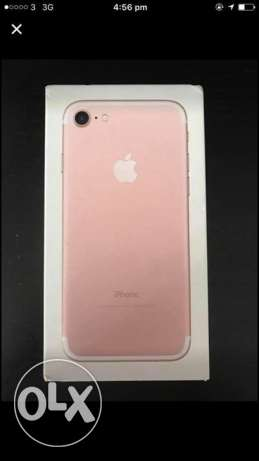 Iphone 7 Roes Gold 32g