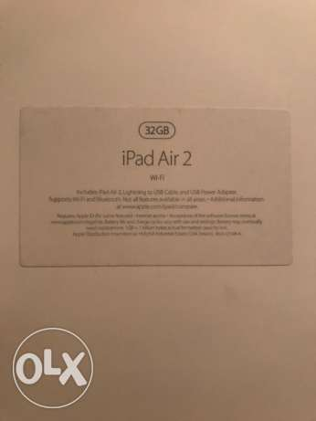 iPad Air 2 32GB wifi only used for one day only