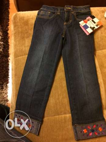disney 4-5 years old girls jeans