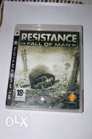 للجاديين PS3 resistance fall of man excellent condition