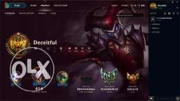 Platinum League Of Legends Account for sale!