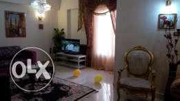 At Nasr city a New Modern flat new furniture full appliance s lux