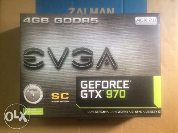 EVGA GeForce GTX 970 4GB SuperClocked