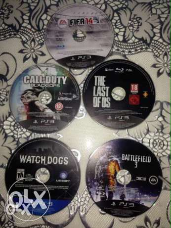 watch dogs + last of us + call of duty bo1 + fifa 14