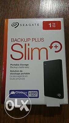 Seagate 1TB External Hard new with warranty