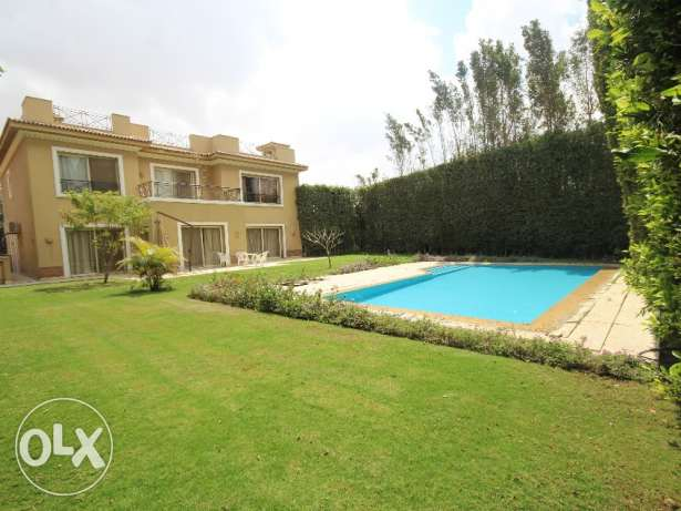 Excellent view in villa for rent in katameya heights