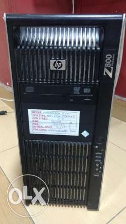 HP Z800 Water Cooling Model طنطا -  1