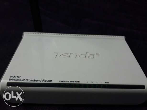 TENDA Wireless - N Broadband Router
