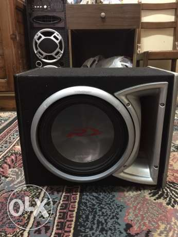 alpine type r 12 inch with box Rockford USAفرصه لن تعوض القاهرة -  1