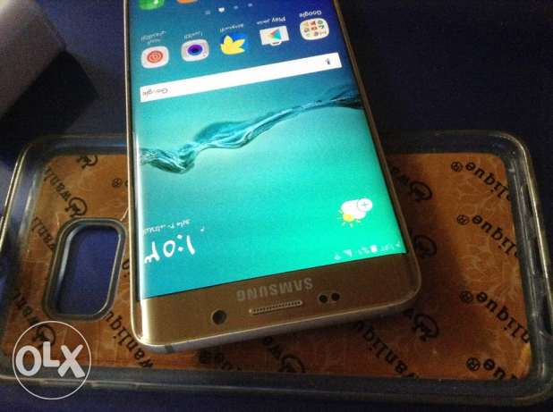 Galaxys s6 edge plus 64g gold like new