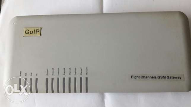 goip eight channels gsm gateway