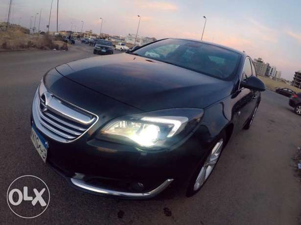 Opel Insignia 2015 Top Line Emerald Green Mint Condition