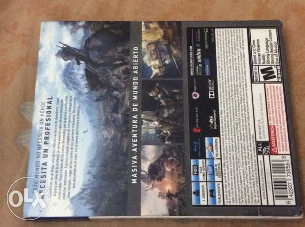 """PS 4 game """" the witcher 3 game of the year edition """" / used only once"""