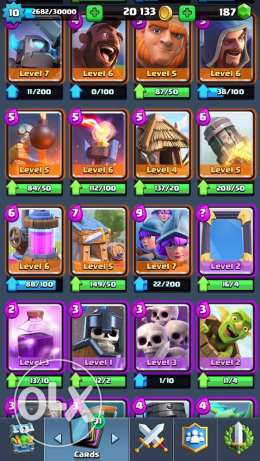 clash royale account المنصورة -  2