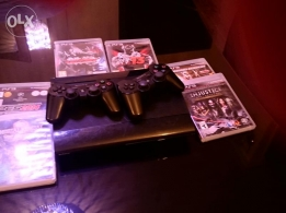PS3 superslim 500 GB GOOD very CONDITION