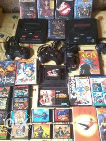 SEGA Genesis ORIGINAL Japan & 15 Games