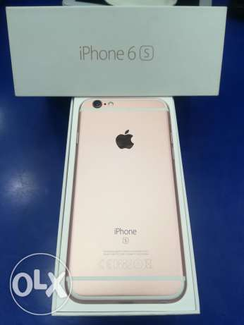 i phone 6s ros gold 64 new