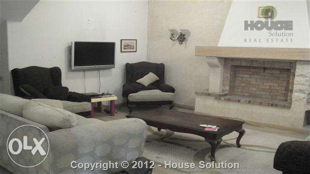 Furnished Ground Floor With Private Entrance And Terrace For Rent