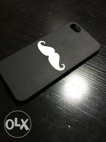 One Moustache black and white iPhone 5/5s cover ON SALE