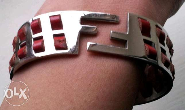 Fendi stainless steel bangle (first copy)