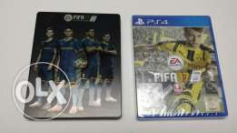 Fifa 17 + Steel Case for PS4
