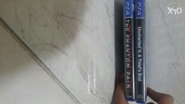 Uncharted 4 and metal gear for sell or trade