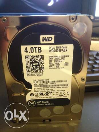 WD Black Hdd 4TB