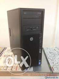 HP WORKSTATION Z420 كاش 15 ميجا رمات 32 جيجا //برسيسور6 كور//FX 600