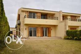 Twin-house For Rent Furnished In Compound Al Rabwa توين هاوس للايجار