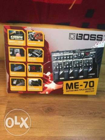 Boss ME-70 multi-effects guitar pedal (NEW)