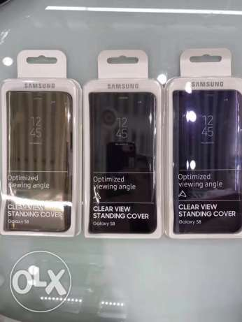 original Samsung S8&s8+ clear view cases