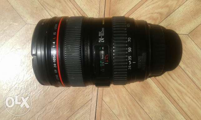 Canon 24-105 F4 IS L