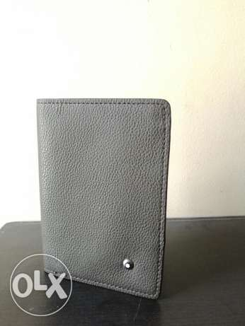 First high copy Mont Blanc passport cover