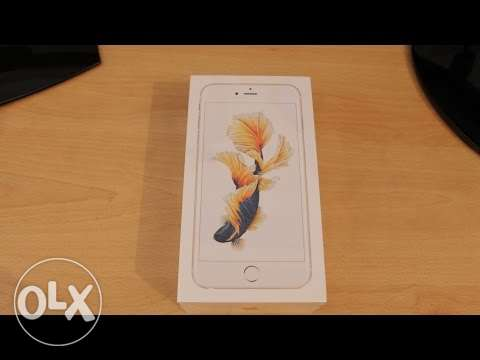 Iphone 6s 64G gold,new and a sealed box