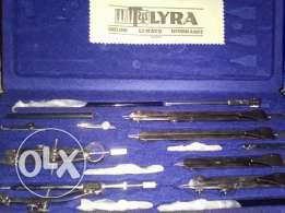 LYRA Compass drawing tools set in a rare condition