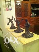 Moloweya hand made bronze figurines