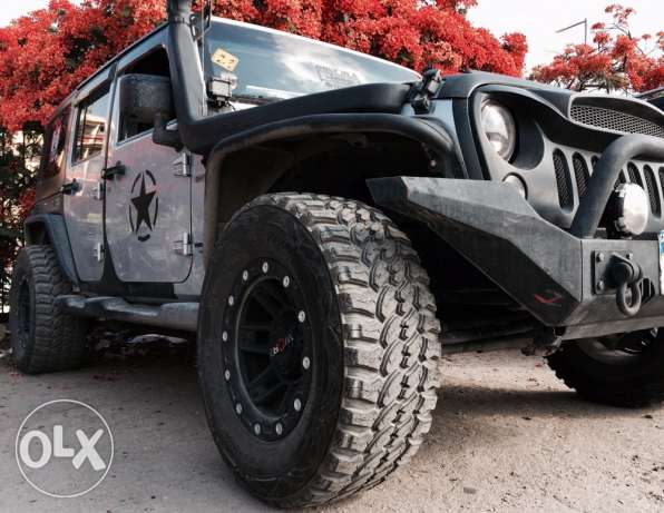 jeep wrangler fully loaded
