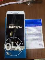 Samsung Galaxy a8 White /32G / As New /No any scratch/ All accessories