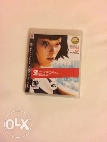 Mirror's Edge CD For PS3 (game)