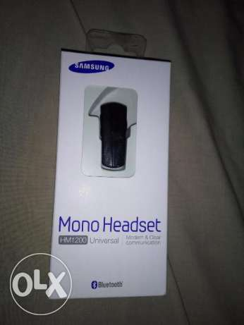 Samsung Mono Headset HM1200 like new with box
